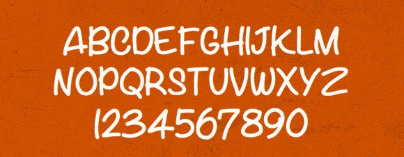 free handwriting font