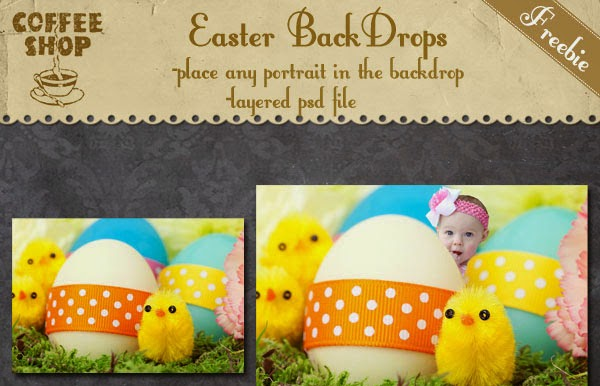 easter background photoshop