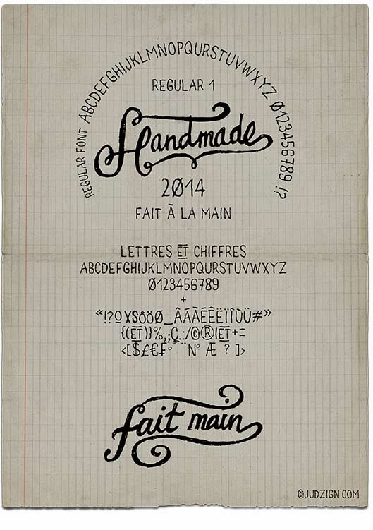 free fonts, free french fonts, handwritten font, handwriting font, handmade font