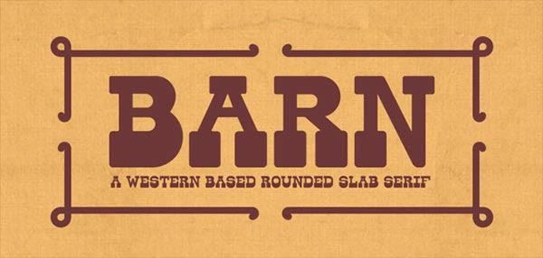 western font, western fonts, free fonts, slab serif font, round slab font, slab font,
