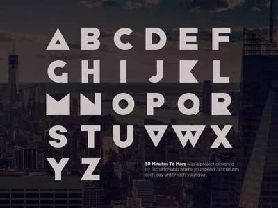 free fonts, free font, geometric font