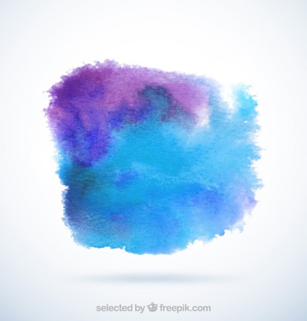 Royalty Free Vector Art - Watercolor Smudges