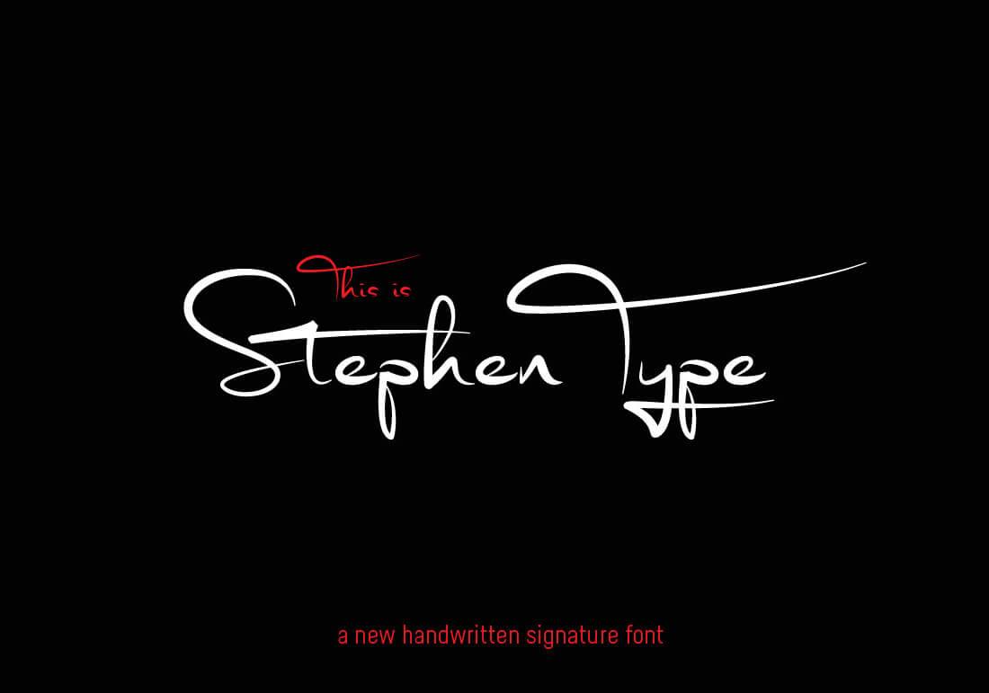 stephen type