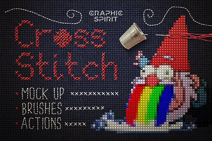 Cross Stitch for Photoshop