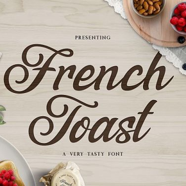 0017_french_toast_hand_drawn_Script_font