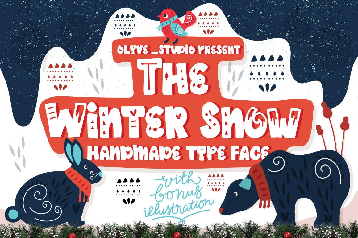 010_The Winter Snow_Scandinavian_Font