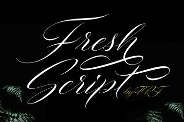 014_Fresh_Script_Calligraphy_Font