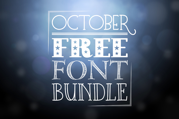 October Free Font Bundle