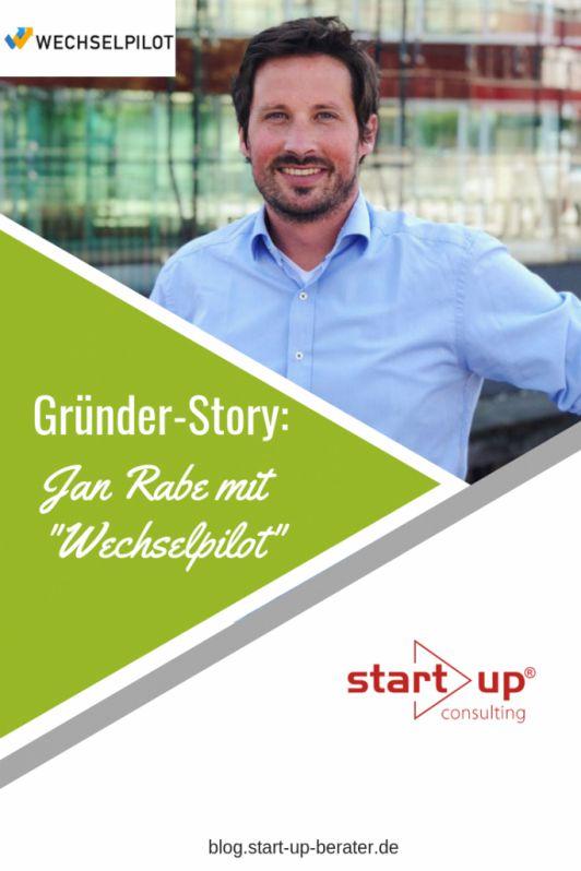 Gründer-Story: Jan Rabe von Wechselpilot