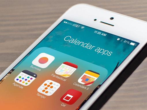 calendar apps iphone