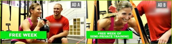 facebook fitness ads