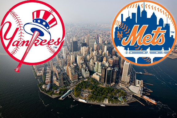 Image result for yankees and mets