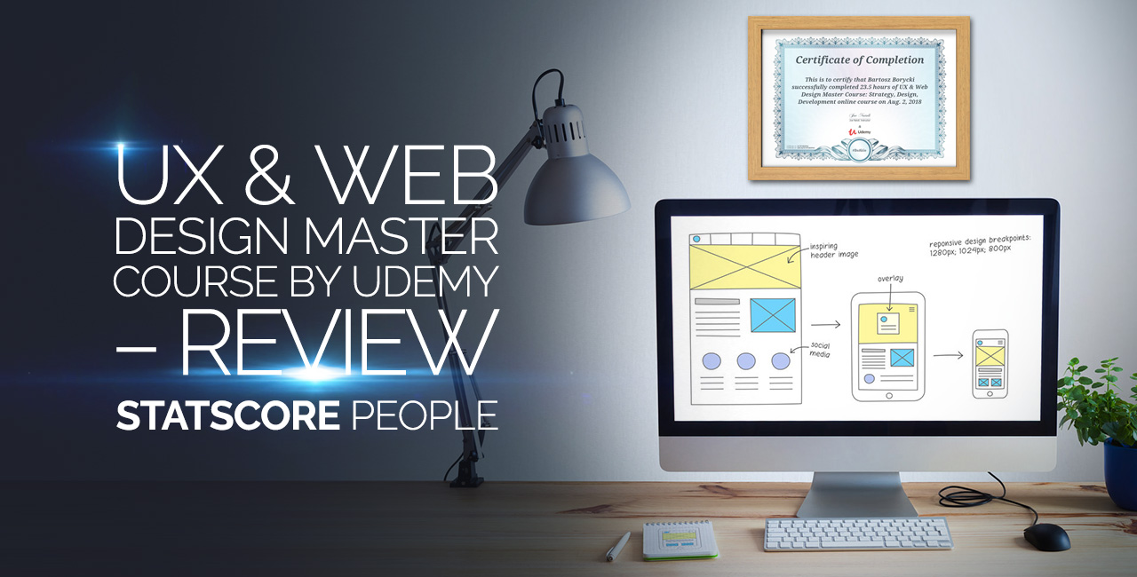 Ux Web Design Master Course Review Statscore News Center