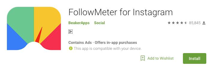Image result for Follow Meter for Instagram