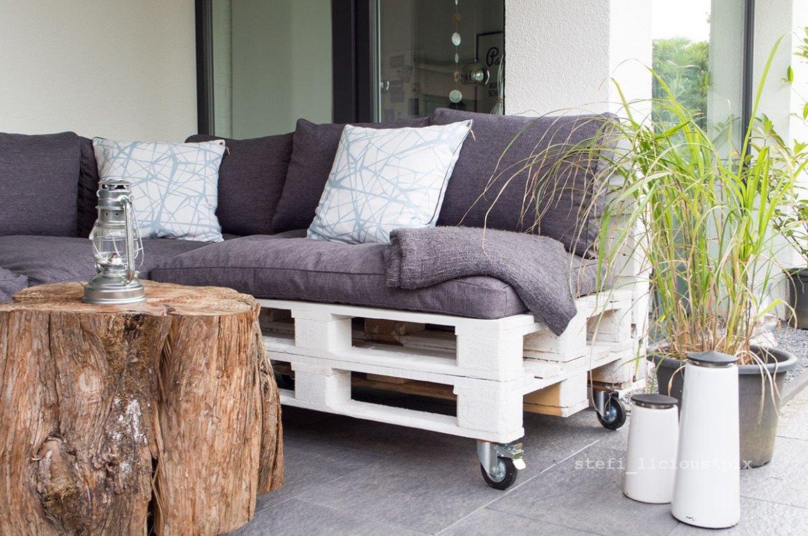 das palettensofa ein terrassen upgrade stefi licious addicted. Black Bedroom Furniture Sets. Home Design Ideas