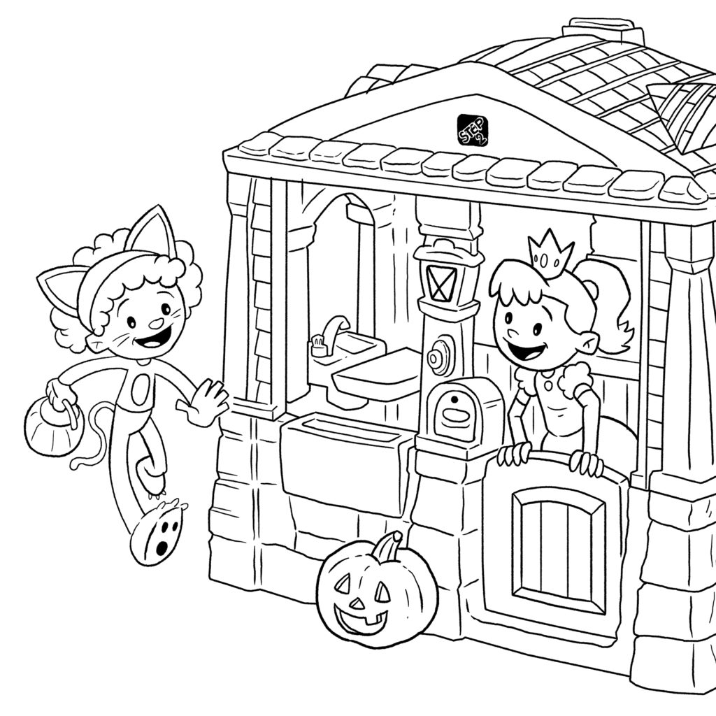 Halloween Ideas for Kids Roundup + FREE Coloring Page
