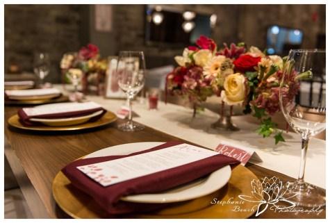 Stylized Wedding Shoot Sidedoor Restaurant Stephanie Beach Photography