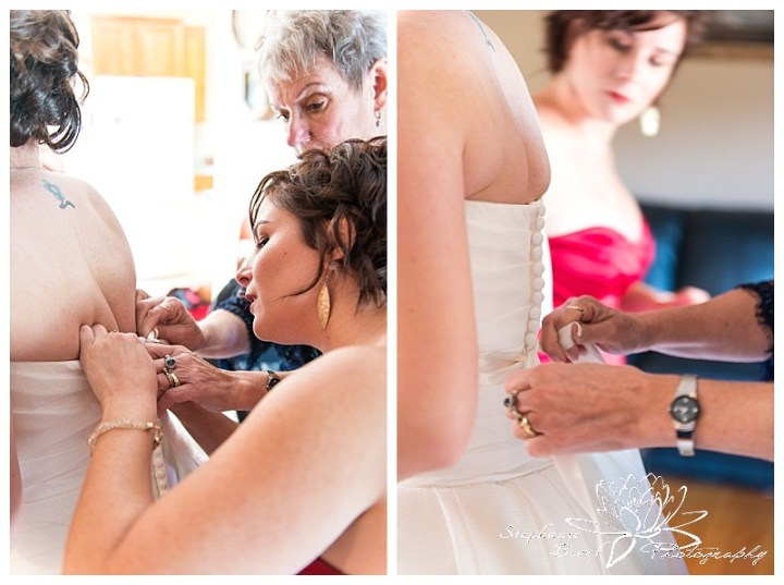 Cornwall-Ramada-Inn-Williamstown-Fairgrounds-Wedding-Stephanie-Beach-Photography-bride-prep-dress