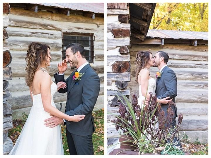 temples-sugar-bush-wedding-stephanie-beach-photography-fall-first-look-bride-groom