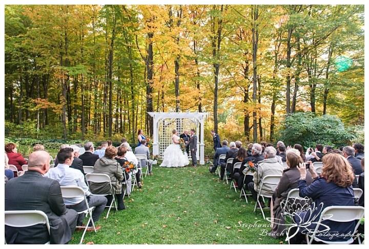 temple's-sugar-bush-fall-wedding-stephanie-beach-photography-ceremony-bride-groom