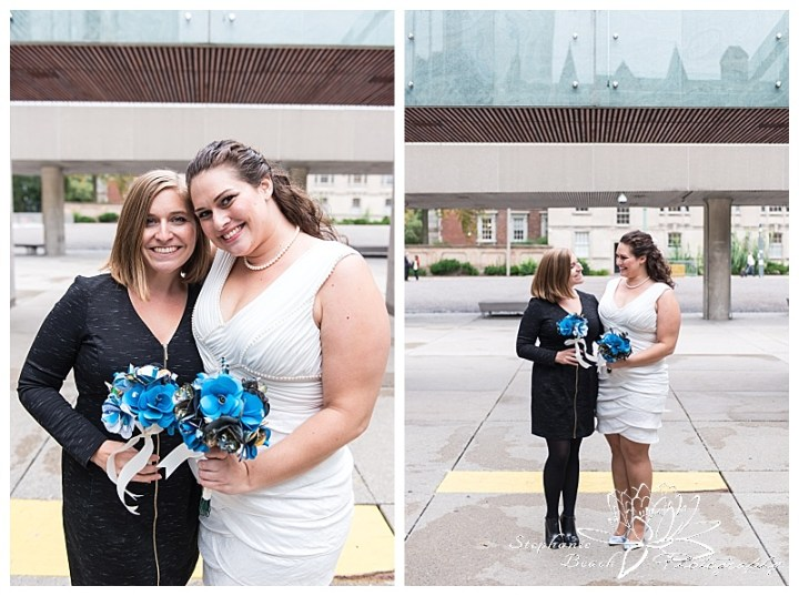 Toronto-City-Hall-Wedding-Stephanie-Beach-Photography-bride-bridesmaid