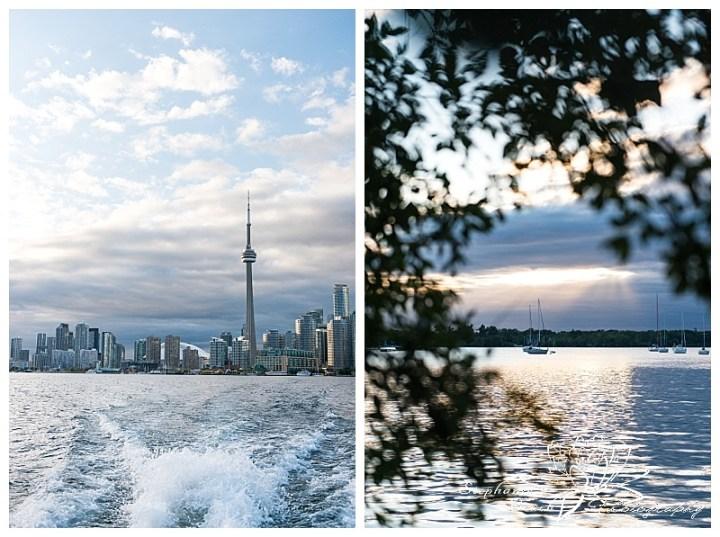 Toronto-Island-Wedding-Stephanie-Beach-Photography-skyline-sunset