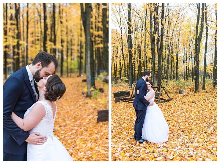 temples-sugar-bush-wedding-stephanie-beach-photography-portraits-bride-groom-rain-leaves-fall
