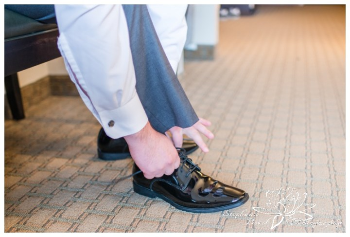 Infinity-Centre-Ottawa-Wedding-Stephanie-Beach-Photography-prep-groom-shoes