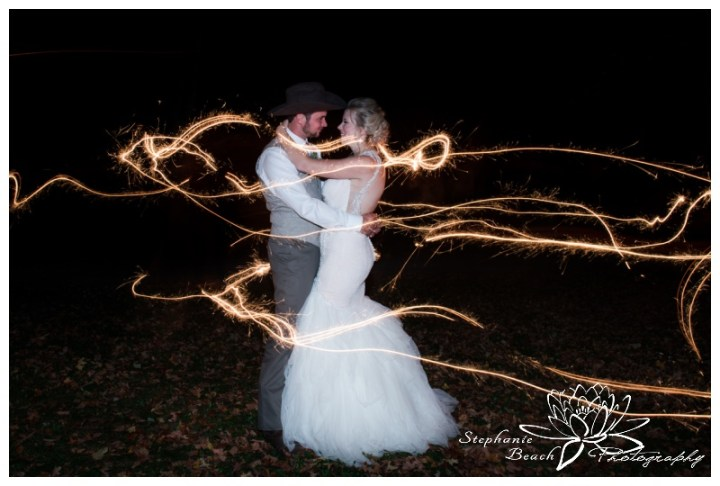 Stanleys-Olde-Maple-Lane-Farm-Wedding-Stephanie-Beach-Photography-sparklers-night-bride-groom