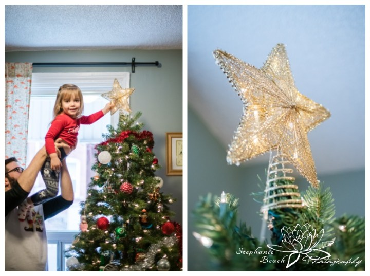 Lifestyle-Christmas-Family-Session-Stephanie-Beach-Photography-Ottawa-tree-star