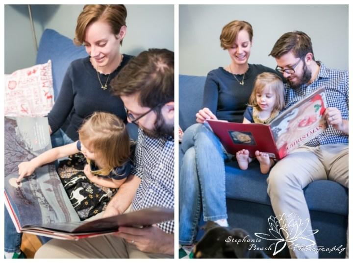 Lifestyle-Christmas-Family-Session-Stephanie-Beach-Photography-Ottawa-story-book