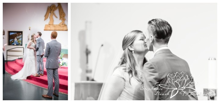 Ottawa-Fall-Wedding-Stephanie-Beach-Photography-ceremony-church-first-kiss