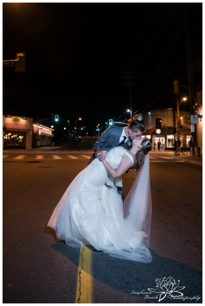 Ottawa-Fall-Wedding-Stephanie-Beach-Photography-portrait-night-groom-bride-street