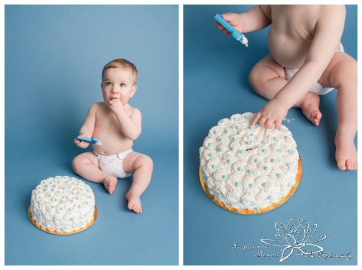 Ottawa-Studio-First-Year-Cake-Smash-Session-Stephanie-Beach-Photography