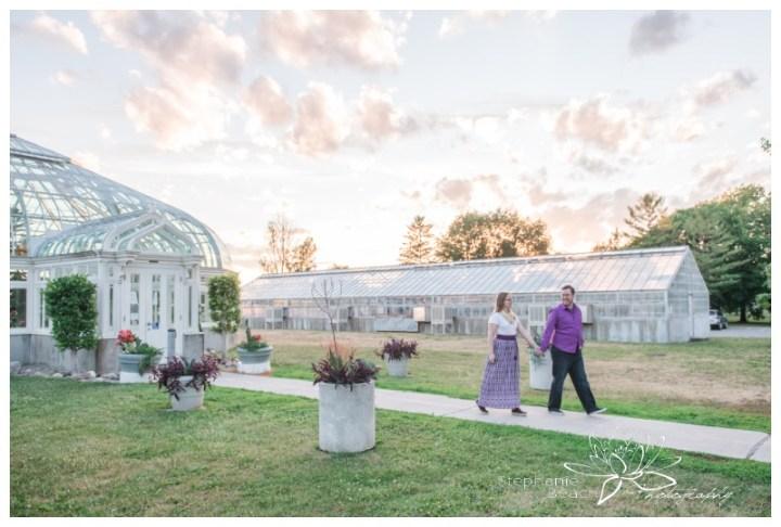 Ottawa-Arboretum-Engagement-Session-Stephanie-Beach-Photography-sunset-greenhouse
