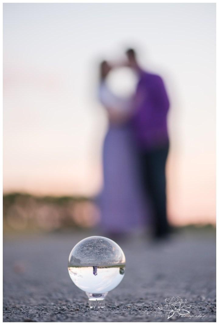 Ottawa-Arboretum-Engagement-Session-Stephanie-Beach-Photography-sunset-lensball