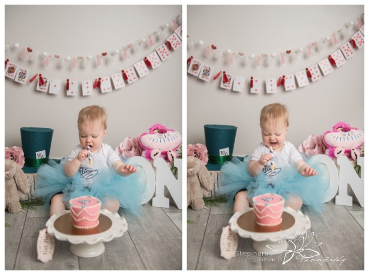 Ottawa-Studio-Cake-Smash-Session-Alice-in-Onederland-Stephanie-Beach-Photography
