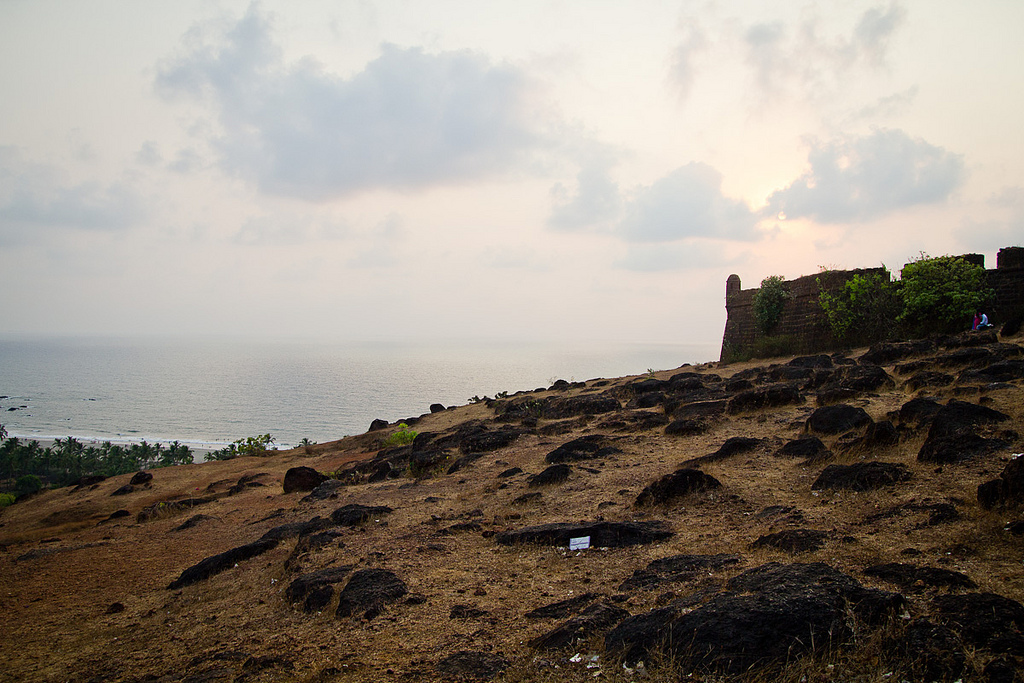 chapora-fort-goa-location-india