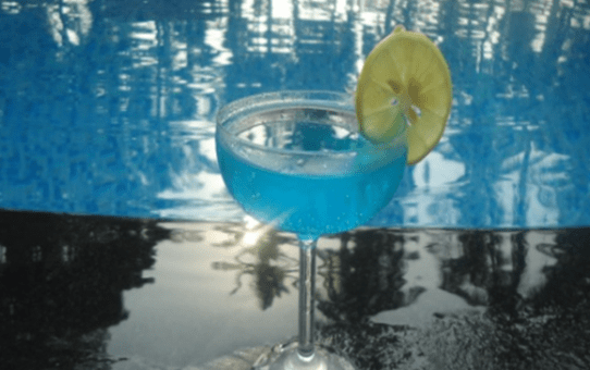 Blue Curacao - A Brilliant Mellowy Mocktail