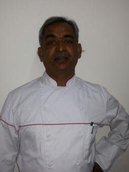 Dharmadhikari PM,  Master Chef - Bakery & Pastry, Sterling Holidays