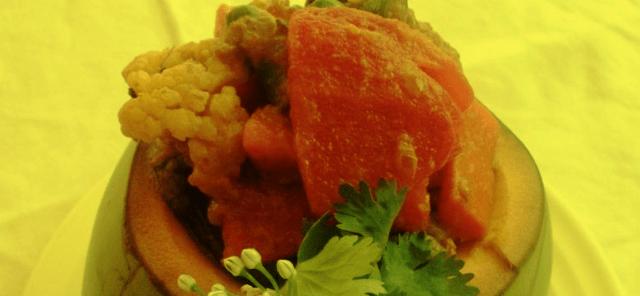 Daber Tarkari Vegetable Recipe
