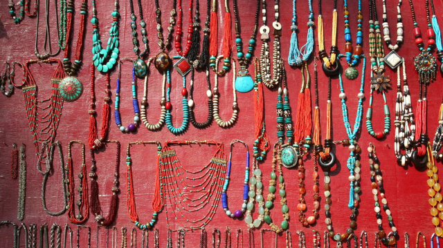 Summer shopping in Goa - Anjuna Flea Market