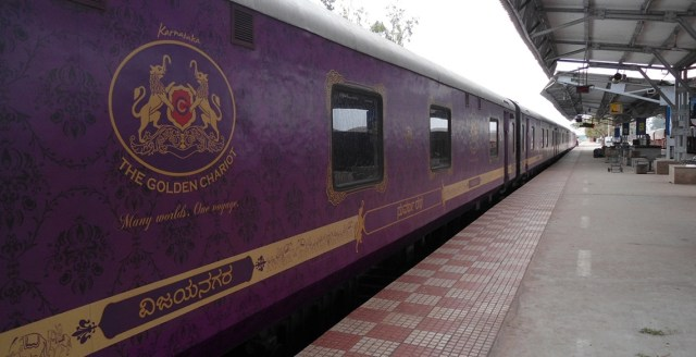 The Golden Chariot Luxury Train India Images