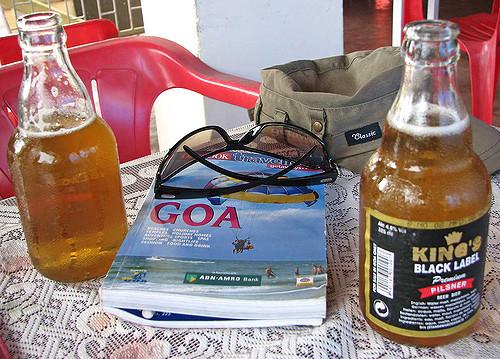 Goa's famous Kings beer