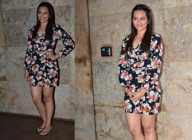 Sonakshi Sinha's Summer Dress