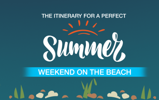 The Itinerary for a Perfect Summer Weekend on the Beach