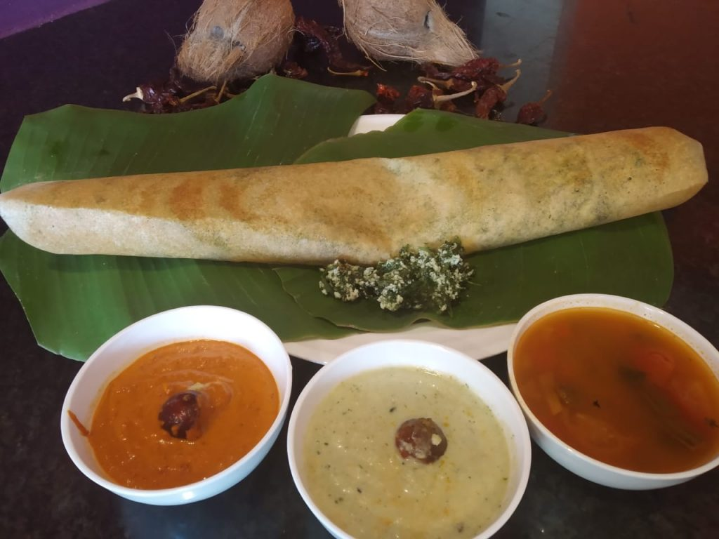 dosa variety at sterling lonavala