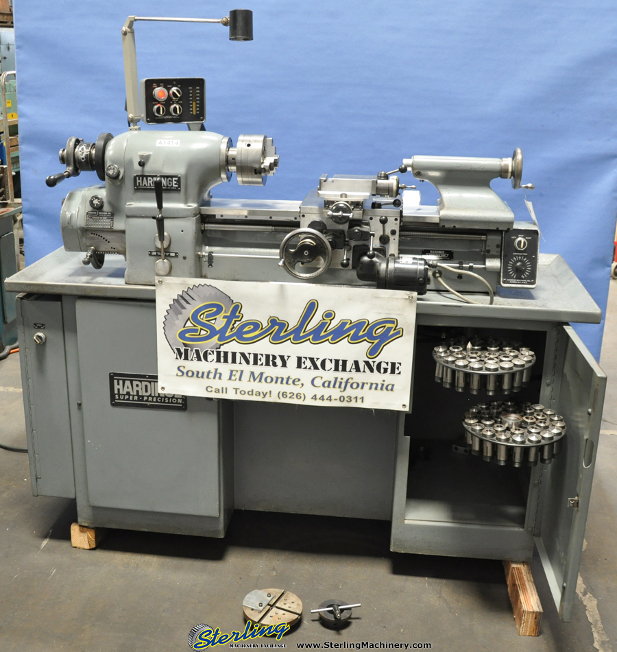 Hardinge Lathe For Sale