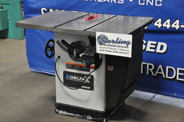 Used Delta Unisaw Table Saw