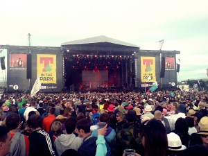 t in the park main stage